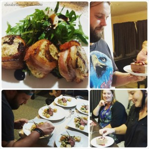 Photogrid of an Elizabeth Marshall Personal Masterclass Private cooking class