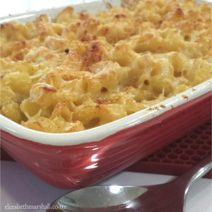 Photo of Elizabeth Marshall MasterChef New Zealand Macaroni and Cheese in Wellington