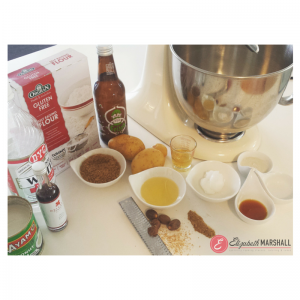 Pic of Ingredients for Potato Donuts for Mother's Day by Elizabeth Marshall Masterchef New Zealand Specialty Cooking Classes Catering and Cakes Wellington