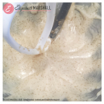 Pic of batter for potato donuts by Elizabeth Marshall Masterchef New Zealand Specialty Cooking Classes Catering and Cakes Wellington for Mother's Day