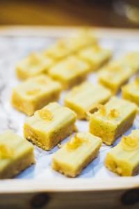 E Marshall's Lemon Grass and Green Tea Slice Photos by Hiro Teraoka
