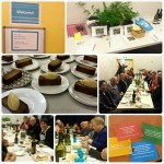 Photogrid of pictures from Elizabeth Marshall MasterChef New Zealand Kaibosh Fundraiser for Make a Meal in May - Dinner With A Difference in Wellington