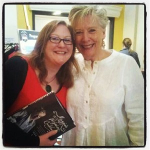 Elizabeth Marshall with Maggie Beer at Wellington on a Plate Masterclass
